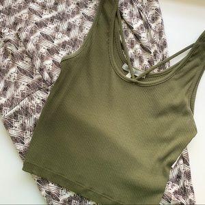 Maxi Skirt & Crop Top SET